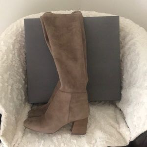 Vince Camuto over the knee suede boots size 8